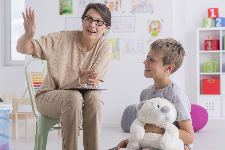 Kinder Psychotherapeut
